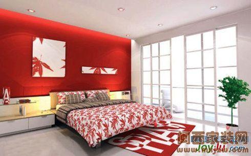现代简约卧室装修图 每一处设计都很精美