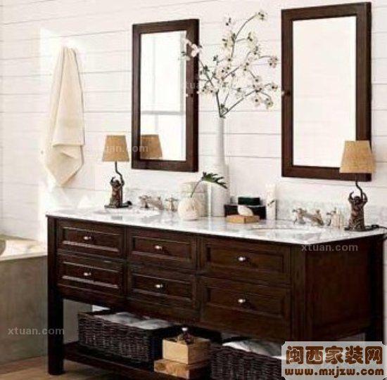 卫浴装修之浴室柜选购与保养-闽西家装网