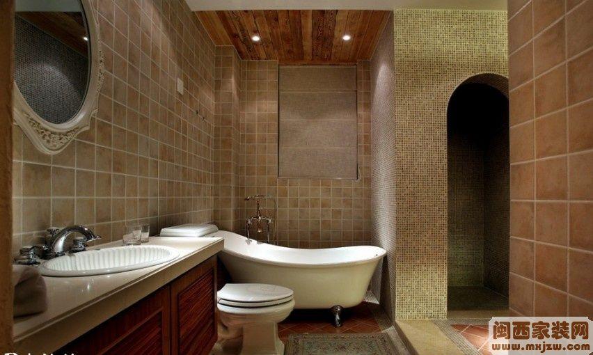 现代欧式卫生间装修效果图欣赏