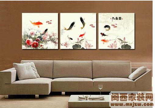 家中客厅挂什么画好?家中客厅挂画有什么讲究?