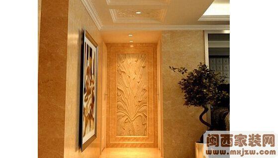 走廊装修中墙面如何装饰?走廊装修墙面设计?
