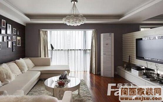 白色客厅搭配窗帘颜色哪种好?白色客厅搭配家具颜色