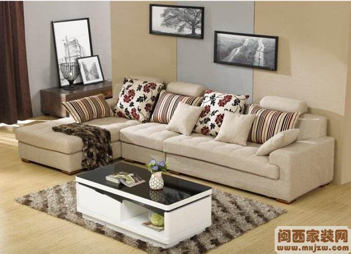 布艺沙发颜色搭配?布艺沙发如何清洗?