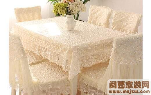 装修餐桌布选择注意事项? 装修餐桌布的清洗?
