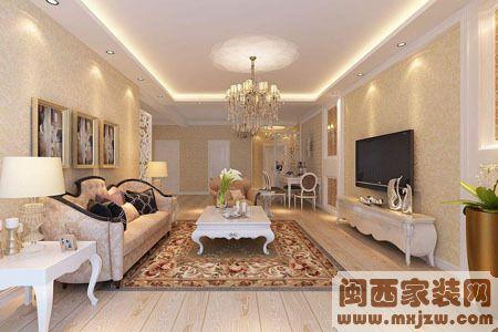 装修壁纸搭配 客厅装修壁纸搭配
