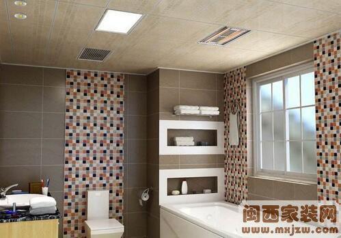 小卫生间吊顶设计 小卫生间吊顶案例