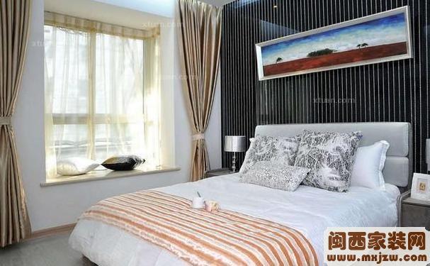 卧室窗帘精品图