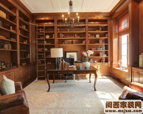 2014书房装修效果图