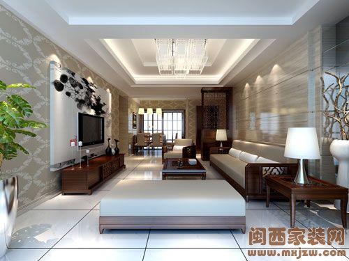 五洲财富广场客厅