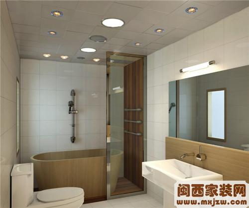 富山河装饰卫生间墙壁瓷砖怎么选1