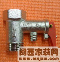 热水器减压阀有哪些作用?热水器减压阀的价格怎么样?