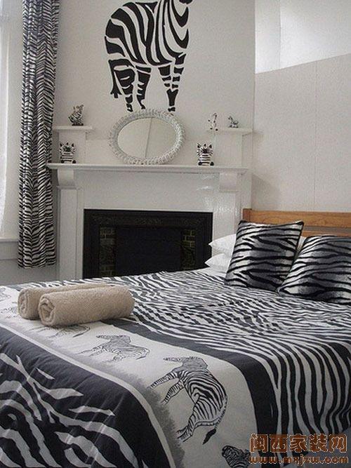 时尚潮流斑马纹 让您的居室与众不同