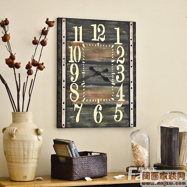 客厅 风水 钟表