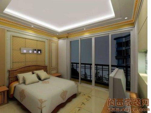 现代简约风格卧室  简单而舒适的窝装修功能