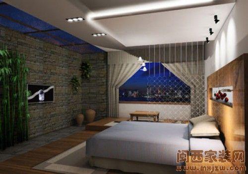 现代简约风格卧室  简单而舒适的窝