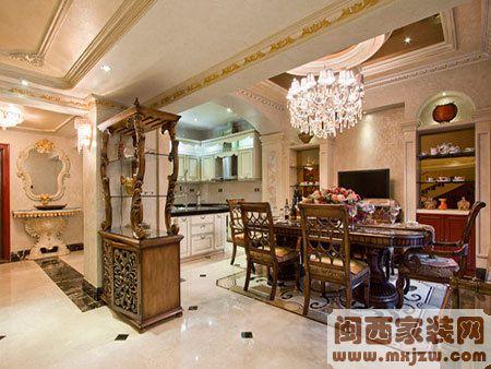 设计师晒美家 400平欧式洋房家装清单