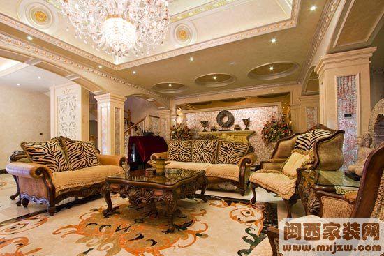 400平欧式洋房:四层古典空间