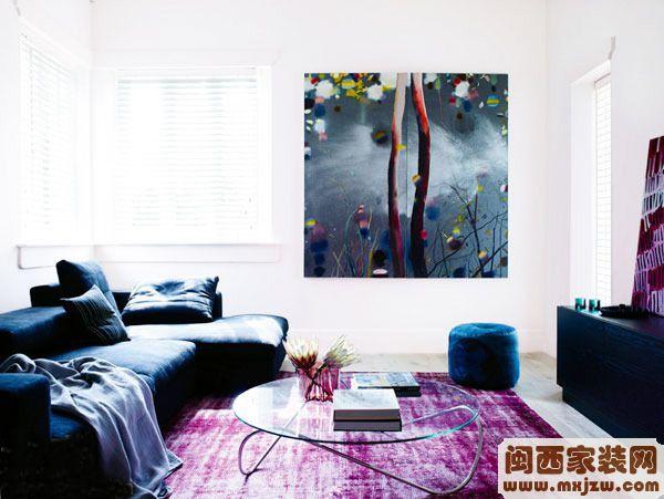 闽西星来利装饰现代装饰画客厅装饰画效果图3