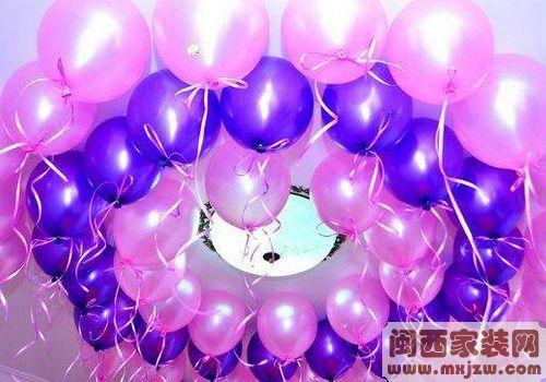 怎么用气球装饰婚房?气球装饰婚房什么颜色好