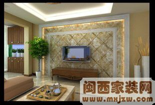 别墅电视背景墙怎么设计?别墅电视背景墙设计的风格?