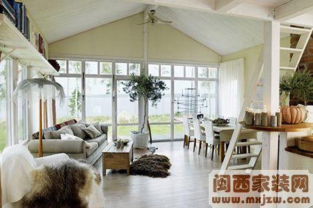 客厅有小变大的设计技巧 小复式客厅设计技巧