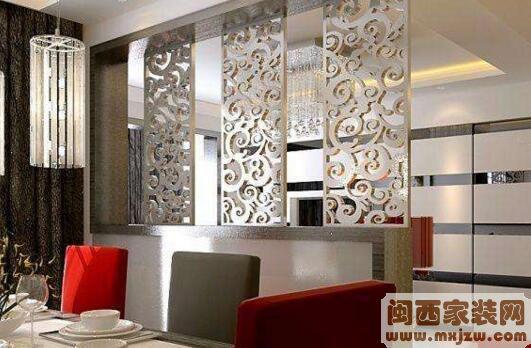 客厅餐厅隔断设计方法?客厅餐厅隔断都有什么材质?