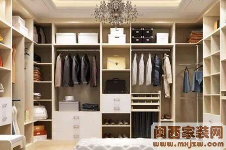 衣帽间装修设计是什么样的?衣帽间的墙面怎么装修比较好?