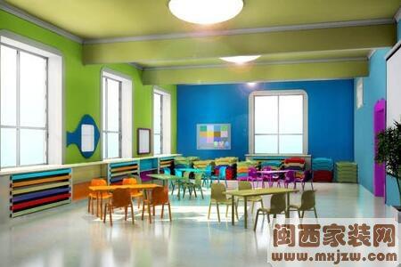 幼儿园室内装修预算?幼儿园室内设计注意什么?
