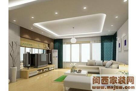 客厅吊顶用什么材料?如何设计客厅吊顶?