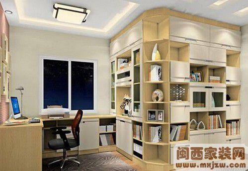 书房应该如何装修设计? 书房装修注意事项