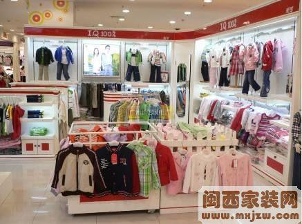 童装专卖店装修风格有哪些  童装店铺如何设计