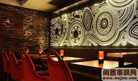 酒吧墙面装饰怎么设计?酒吧墙面装饰有什么风格?