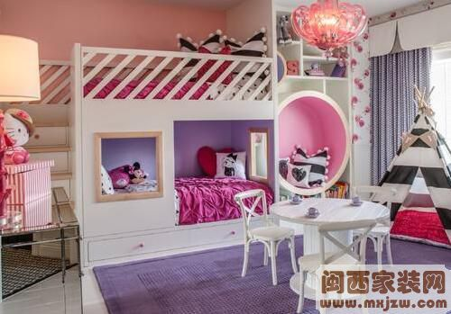 双人儿童房设计 双人儿童房装修事项