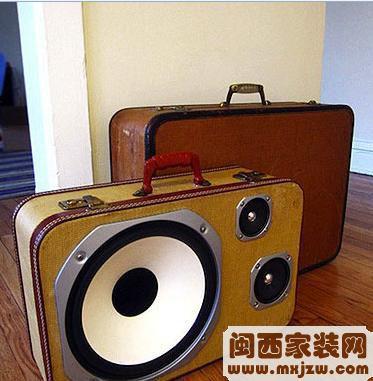 5款便携式创意小音响 让你乘音乐去旅行